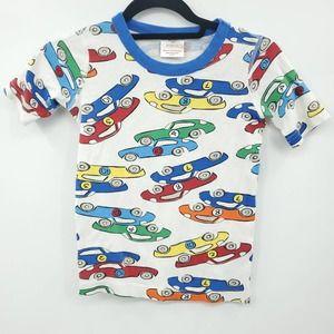 Hanna Anderson Blue Cars Pajama Top 10